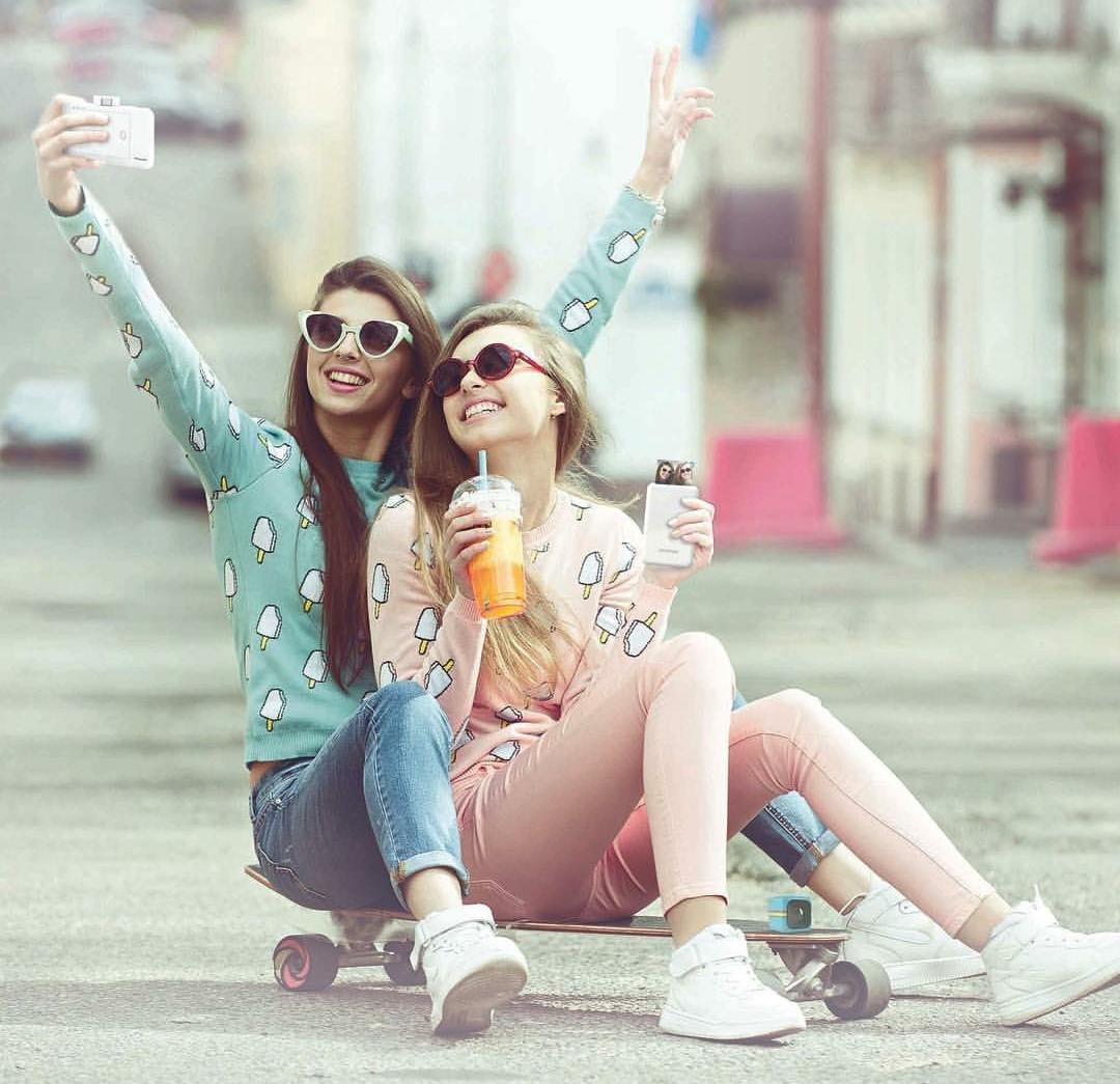 appareil photo instantane selfie
